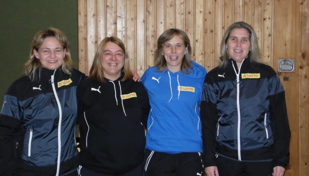 Von links nach rechts: Kirsten Michele, Ute Preisberger, Nicole Harborth, Susanne Busche