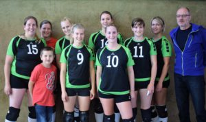 Volleyballdamen Saison 2016-2017