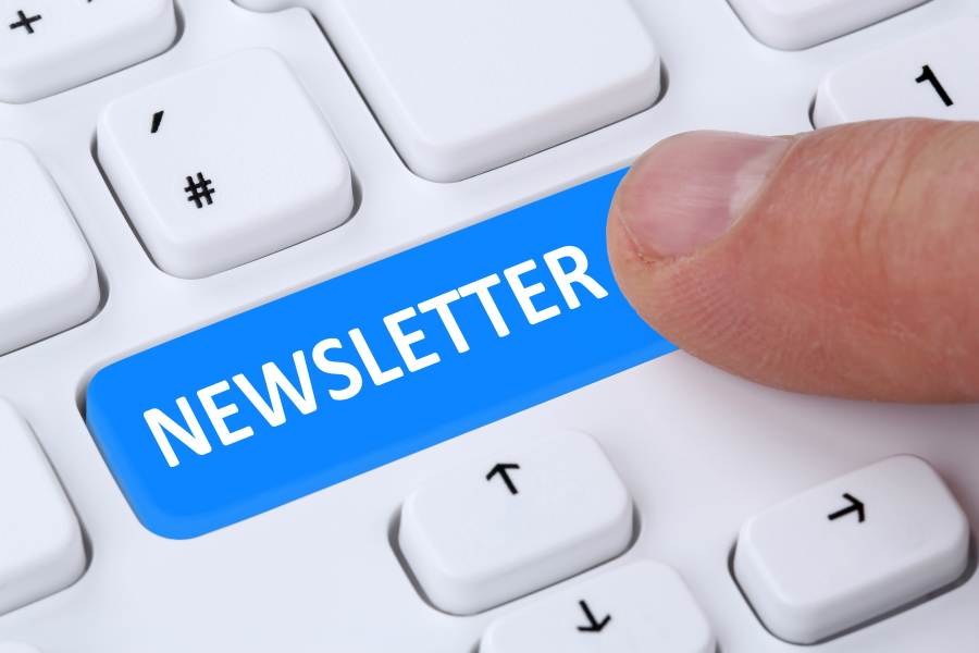 Newsletter Anmeldung SSG